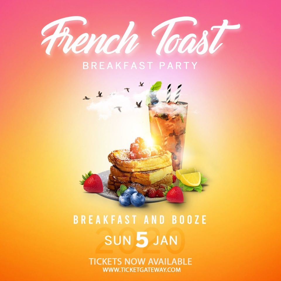 What: Breakfast PartyWhen: Sunday, January 5Where: Anchorage Beach Club, Chaguaramas
