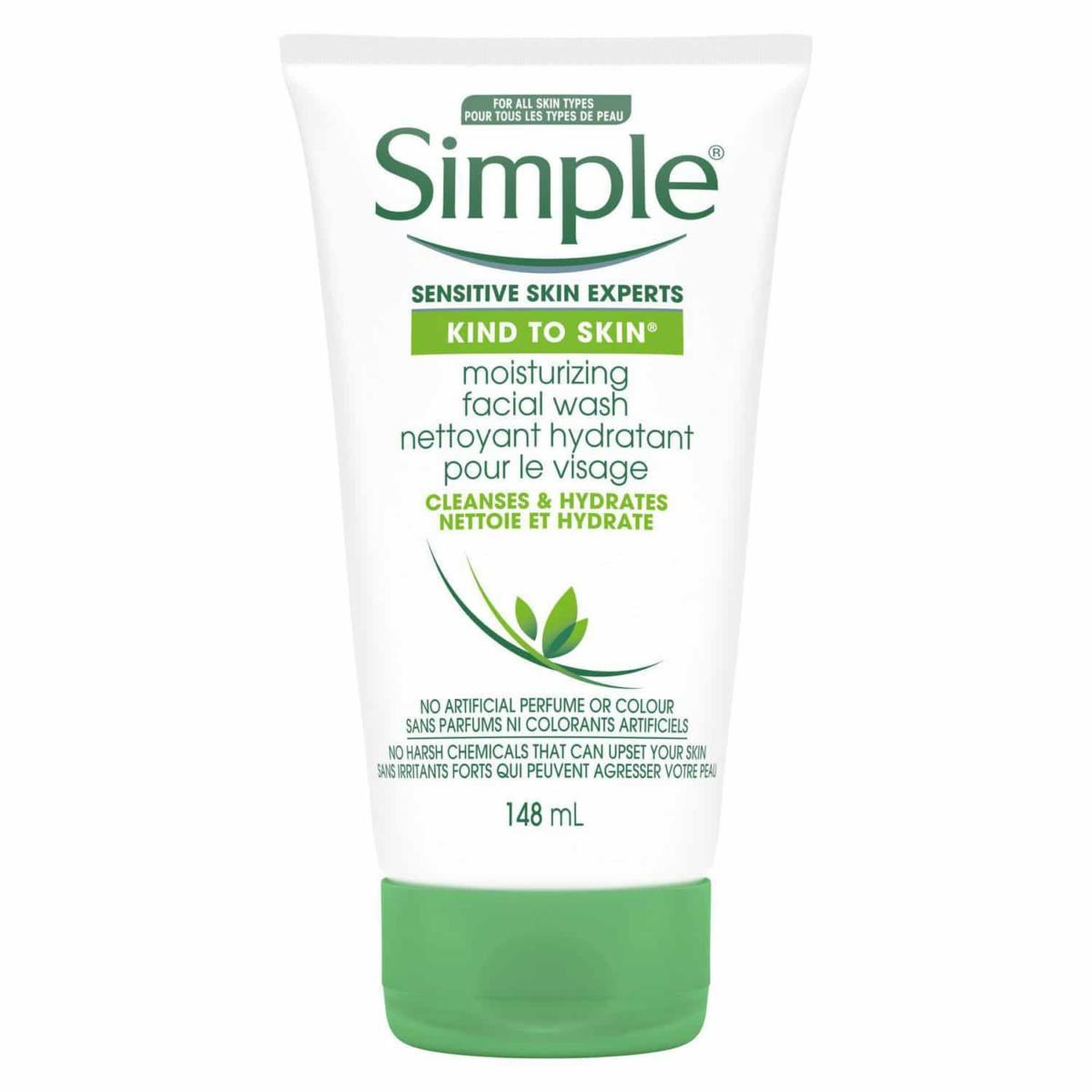 Simple Moisturizing Face Wash